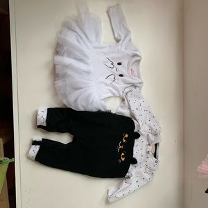 2 0-3 month Halloween outfits!